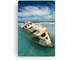 The Wreck1 Canvas Print