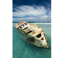The Wreck1 Photographic Print