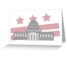The U.S. Capitol in Washigton, D.C. Greeting Card