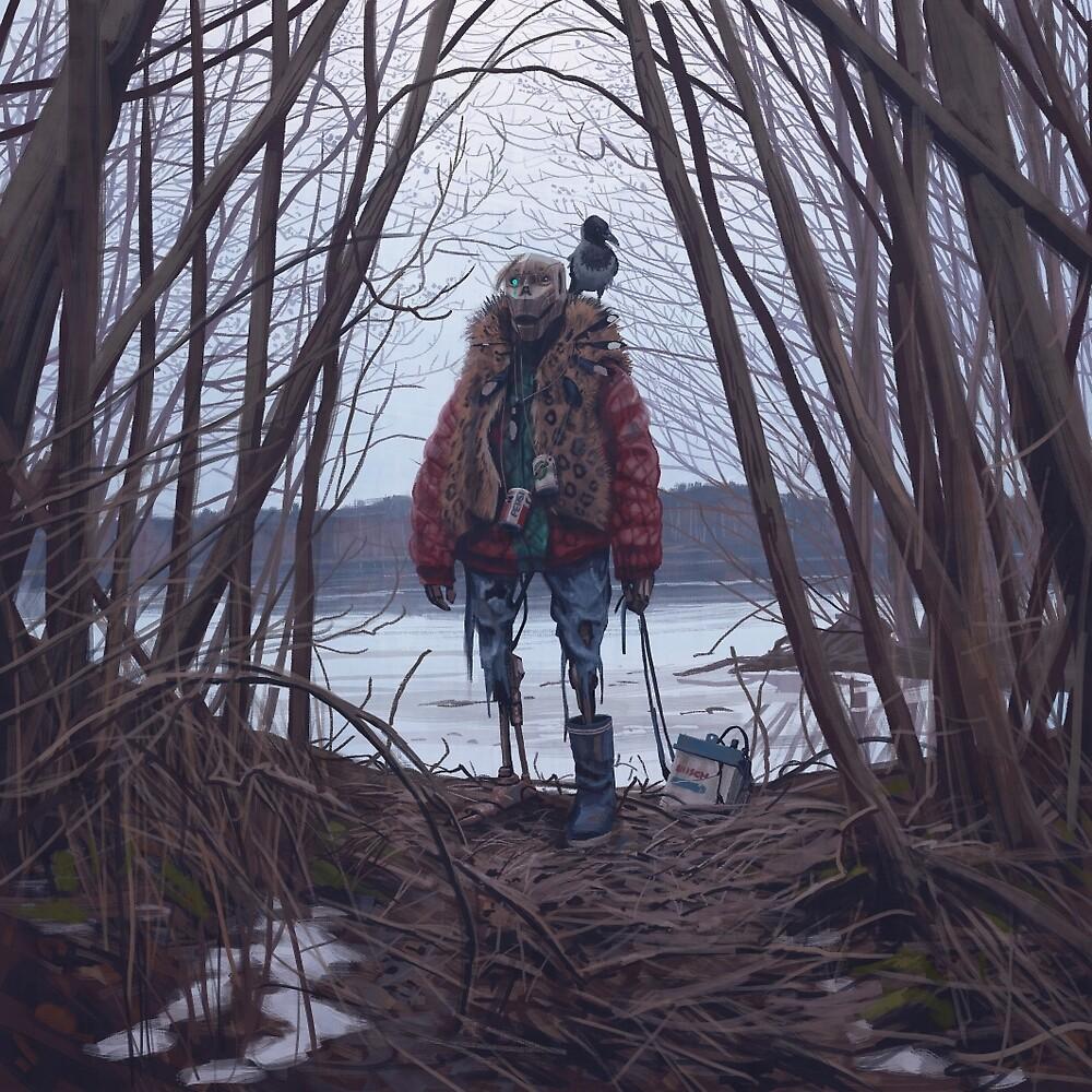 Vagabonds - The Crow by Simon Stålenhag