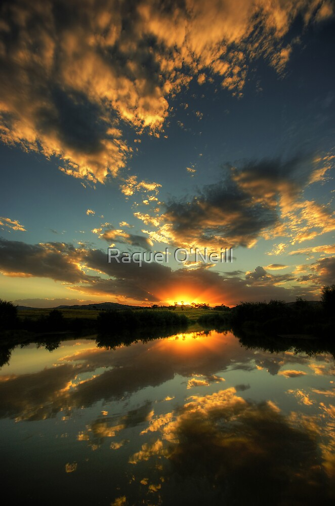 Evening Reflections by Raquel O'Neill