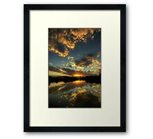 Evening Reflections Framed Print