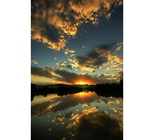 Evening Reflections Photographic Print