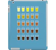 Beers and brews shades of beer iPad Case/Skin
