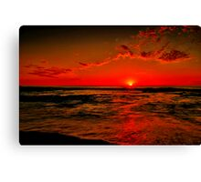 """Sunrise at Cathedral Rock"" Canvas Print"