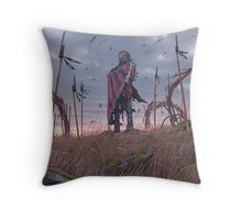 Vagabonds - The Lord With The Ice Cream Umbrella  Throw Pillow