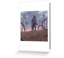 Vagabonds - The Lord With The Ice Cream Umbrella  Greeting Card