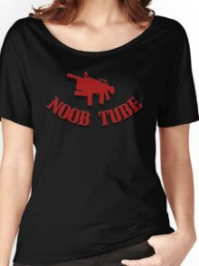 Noob Tube Women's Relaxed Fit T-Shirt