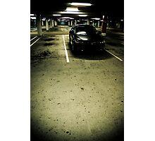 Isolated Photographic Print