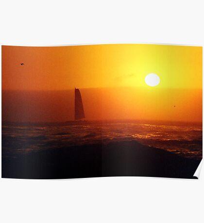golden sails Poster