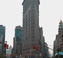 Flat Iron Building by Hicksy
