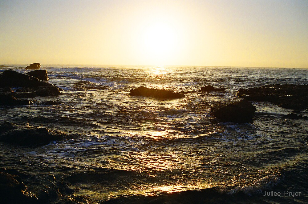 the golden sea by Juilee  Pryor