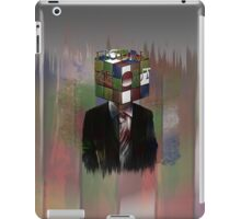 Figure Me Out text iPad Case/Skin