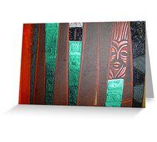 red totem Greeting Card
