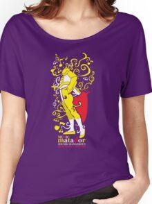MUSIC MATADOR Women's Relaxed Fit T-Shirt