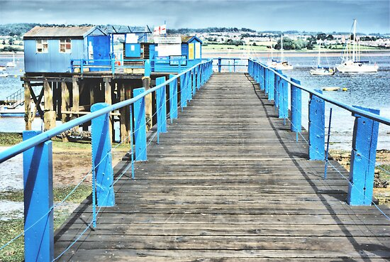 Board Walk by Catherine Hamilton-Veal  ©