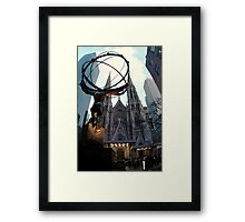 Manhattan's Gothic-Style Cathedral Framed Print