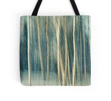 Snowy Birch Grove Tote Bag