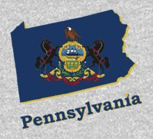 pennsylvania state flag by peteroxcliffe