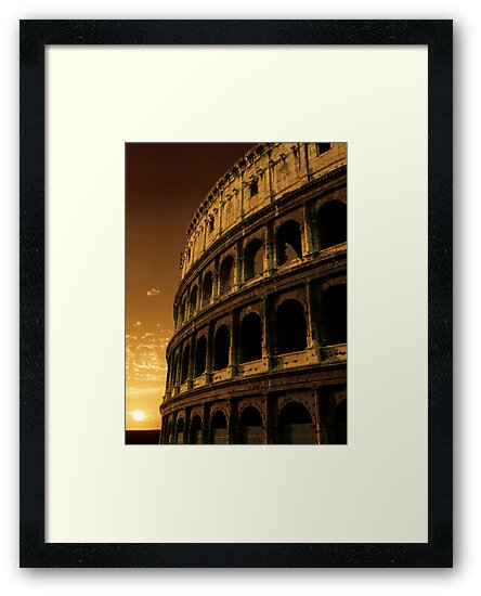 colosseum sunrise by sumners