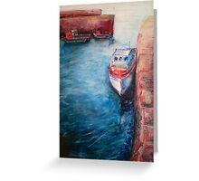 Harbour Boat #3 Greeting Card