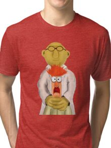 Bunsen and Beaker Tri-blend T-Shirt