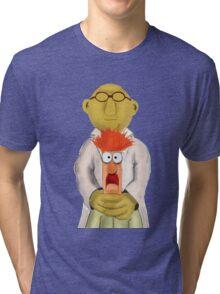 Bunsen and Beaker Tri-blend T-Shirt