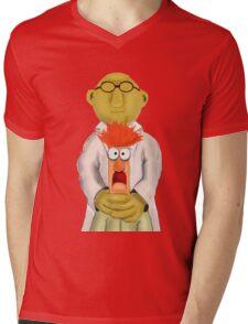 Bunsen and Beaker Mens V-Neck T-Shirt