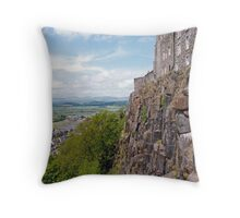 Sterling Castle Throw Pillow