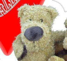 Teddy Valentine  Sticker