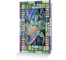 Art Nouveau Belly Dance Greeting Card