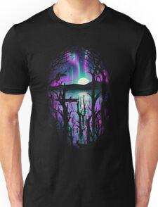 Night With Aurora Unisex T-Shirt
