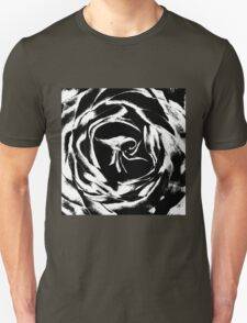 Black and white rose T-Shirt
