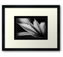 Pedals in Motion Framed Print