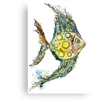 Watercolor fish illustration Canvas Print