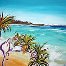 Cylinder Beach Straddie Australia by gillsart