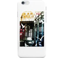 Flying along the Coast by Worthing Pier (Worthing West Sussex) iPhone Case/Skin