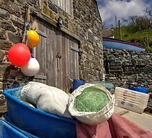 Cadgwith Fishing paraphernalia  by Rob Hawkins