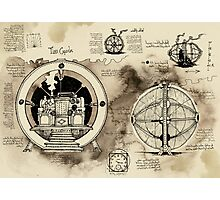 Time Machine sketches Photographic Print