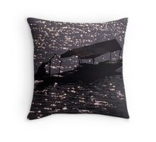 On Lake Dal Throw Pillow