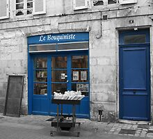 Le Bouquiniste - La Rochelle by Pamela Jayne Smith