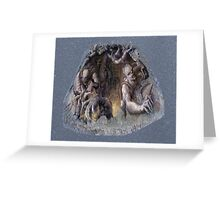 sneuvelnation - alien invasion from the ground Greeting Card