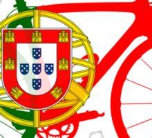 Bike Flag Portugal (Big) Sticker
