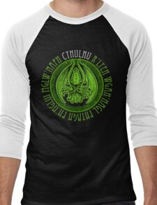 Invoking Cthulhu Men's Baseball ¾ T-Shirt