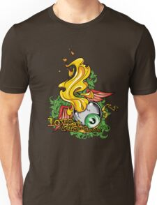 Flaming Eyeball Unisex T-Shirt