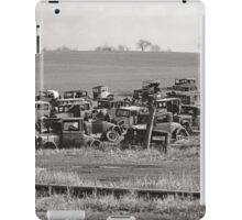 Automobile Graveyard, 1935 iPad Case/Skin