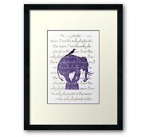 I am the only elephant Framed Print