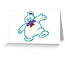 Stay Puft: Livin' EXTRA Large Greeting Card