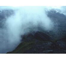 Clouds over Blencathra Photographic Print