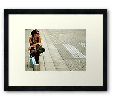 Shopaholic Framed Print